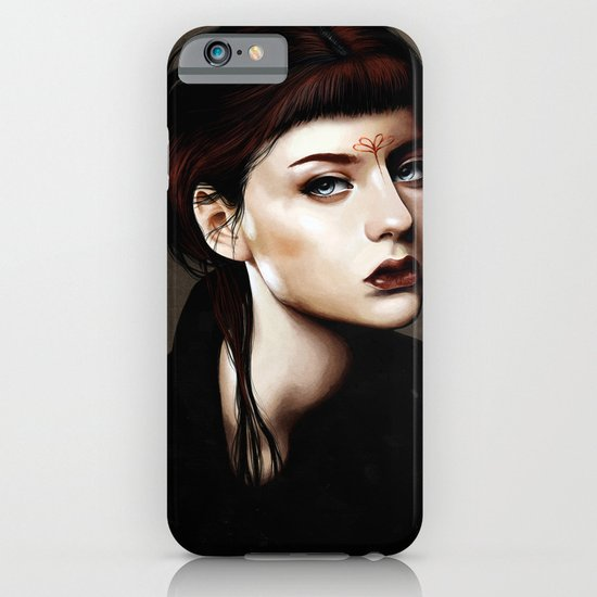 Zoey Scarlet iPhone & iPod Case