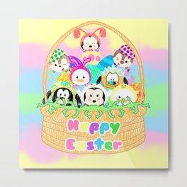 Easter Basket Metal Print