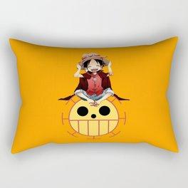 luffy haki Rectangular Pillow