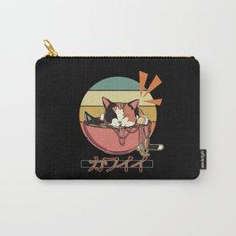 Anime cat Ramen Send Noodles Carry-All Pouch