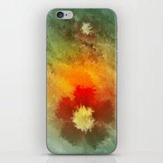 Summer floral wallpapaer. iPhone & iPod Skin