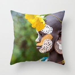 Suri Nature Throw Pillow