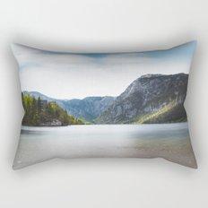 Lake Bohinj, Slovenia Rectangular Pillow