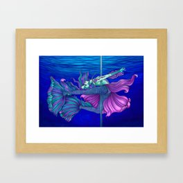 Pole Stars - PISCES Framed Art Print