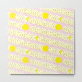 Lemon pattern. Metal Print