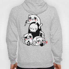 Death Is Cat Person Hoody