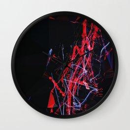 LASERS Wall Clock