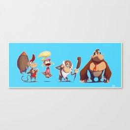 Kongs Canvas Print