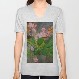 Felicity House Arrangement Unisex V-Neck