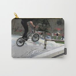 """""""Getting Air"""" - BMX Rider Carry-All Pouch"""