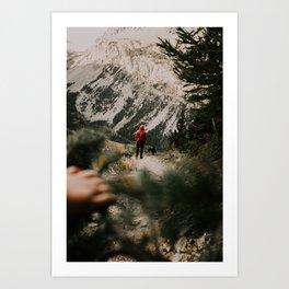 A Wild Pack Art Print