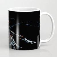 nightcrawler Mugs featuring Nightcrawler by bernardtime