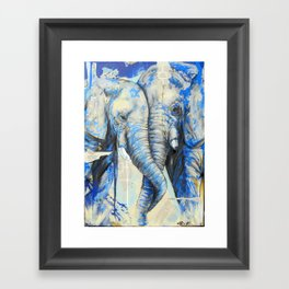 Love Struck Framed Art Print