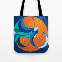 One with the sun Tote Bag