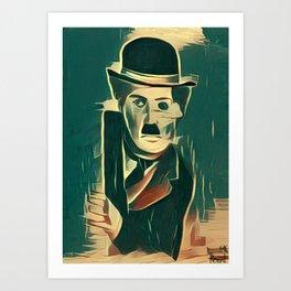 Chaplin Art Print