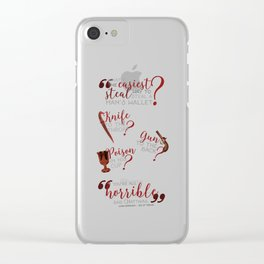 The easiest way... - Six of Crows Clear iPhone Case