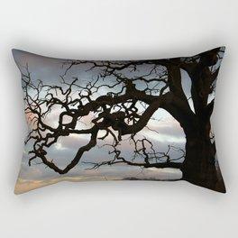 Crazy tree Rectangular Pillow
