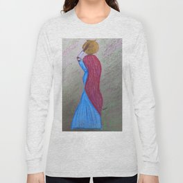 Lady with a Pot Long Sleeve T-shirt