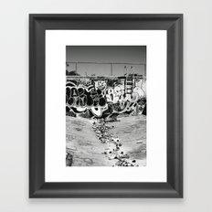 downfall Framed Art Print