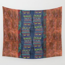 Tribal Tale Wall Tapestry