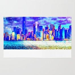 Pastel New York  Rug