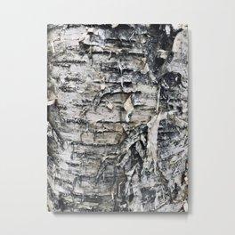 Nature's skin Metal Print