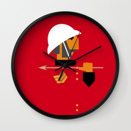 The man who would be king Wall Clock