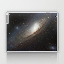 The Andromeda Galaxy, spiral galaxy in the constellation of Andromeda Messier 31 M31 Laptop & iPad Skin