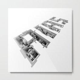 AIAS Perspective Metal Print