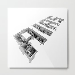AIAS Perspective Metal Print