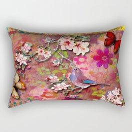 In the Garden Rectangular Pillow