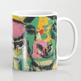 Squares and Sheep Coffee Mug