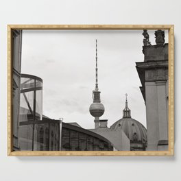 German Historical Museum and German Dome in Berlin Serving Tray