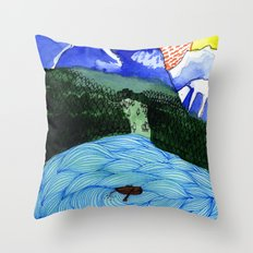 Landscapes / Nr. 1 Throw Pillow