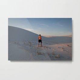 White Sands, NM Metal Print