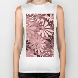 In The Tropics LIGHT PINK Biker Tank