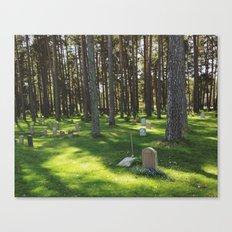 Skogskyrkogården Canvas Print