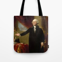Vintage George Washington Portrait Painting 2 Tote Bag