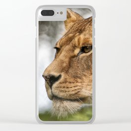Josie the Lioness Clear iPhone Case