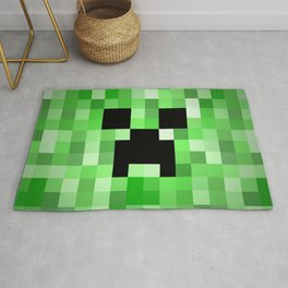 Creepy Creeper! Rug