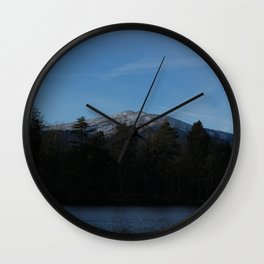 The lonely mountain Wall Clock