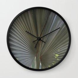 Gray Frond DP150314-16 Wall Clock