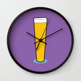 Beer Glasses (Pilsner) Wall Clock