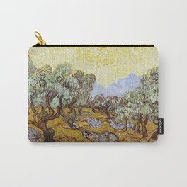 Olive Trees by Vincent van Gogh Carry-All Pouch