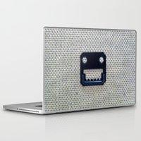 jaws Laptop & iPad Skins featuring Jaws by chris panila