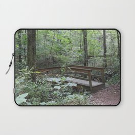 Bridge in the Woods Laptop Sleeve