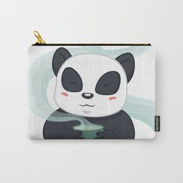 Panda Tea Time Carry-All Pouch