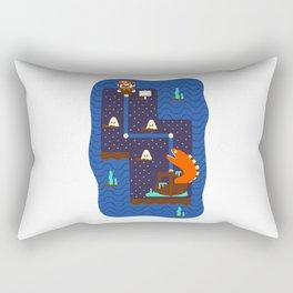 Overworld: Deep Rectangular Pillow