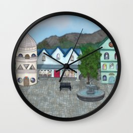 Figures from a Dresden Past - Imagined Wall Clock