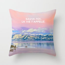 _SAUVE TOI Throw Pillow